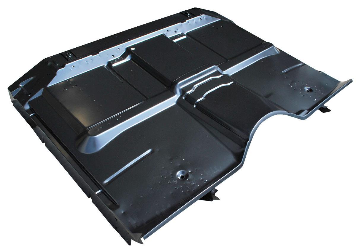 67 72 C10 Cab Floor Panel Assy Low Hump Cooper